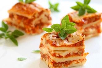 Lasagna Lovers (Ages 6-8 w/ Caregiver)