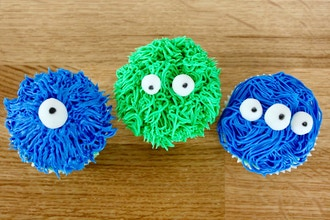 Monster Cupcakes (Ages 6-8 w/ Caregiver)