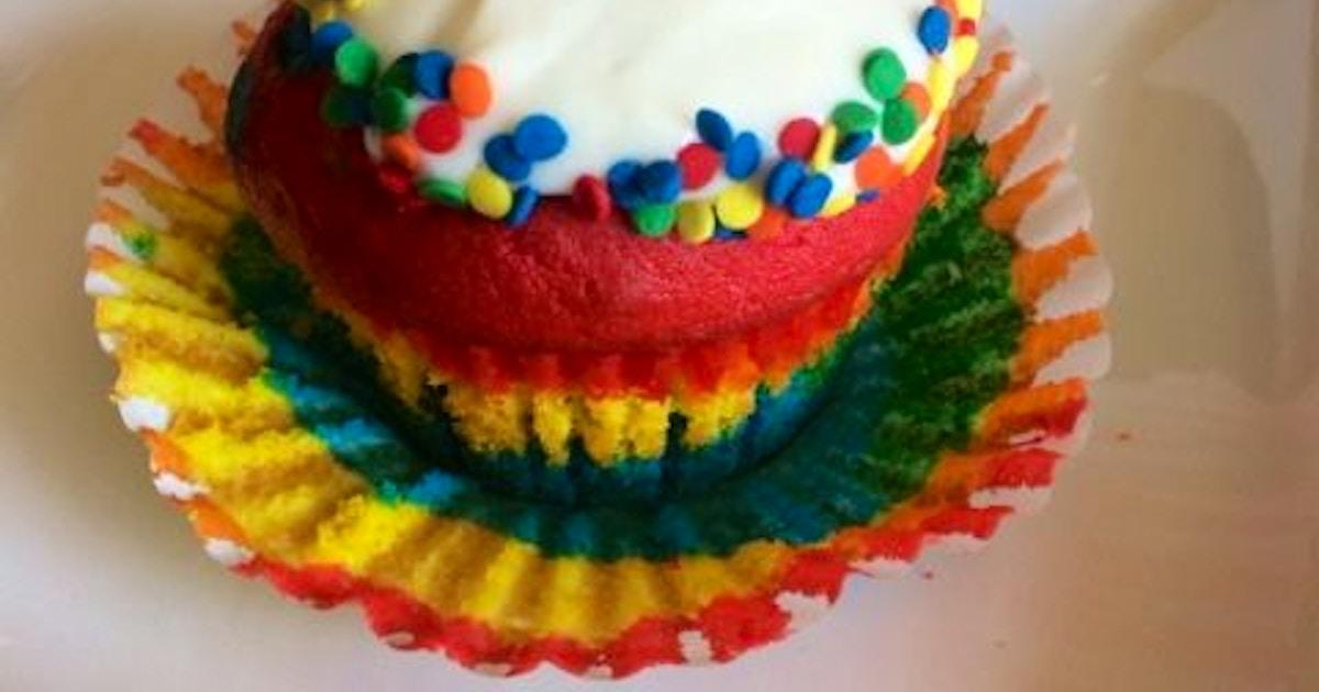 Rainbow Cupcakes Workshop Ages 5 8 W Caregiver