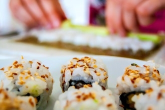Sushi & Dumplings (Ages 9-13 Family)