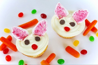 Easter Bunny Cupcakes (Ages 2-5 w/ Caregiver)