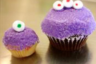 Halloween Spooky Cupcakes (Ages 2-8 w/ Caregiver)