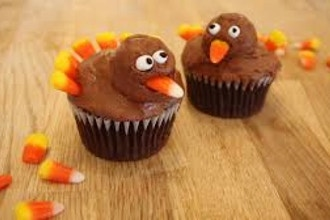 Turkey Cupcakes (Ages 5-8 w/ Caregiver)
