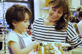 Gingerbread House Workshop (Ages 2-8 w/ Caregiver)