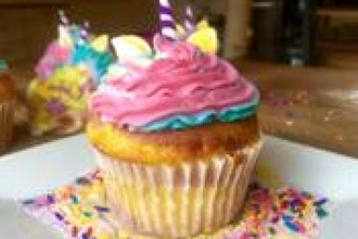 Unicorn Cupcakes Workshop (Ages 5-8 w/ Caregiver)
