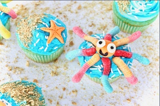 Under the Sea Cupcakes (Ages 2-5 w/ Caregiver)