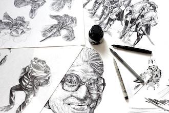 Pen & Ink Illustration