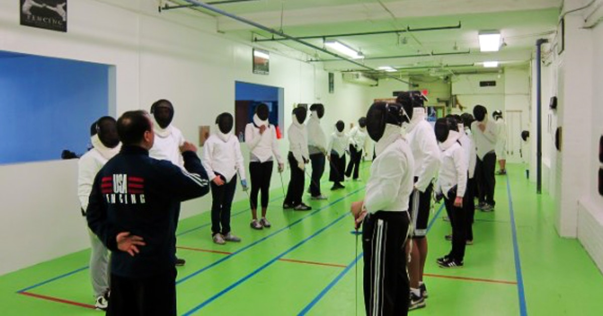 Fencing For Adult Beginners Fencing Lessons New York