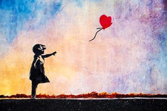 Girl with Balloon by Bansky