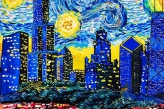 Van Gogh Visits Chicago