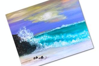 Paint + Sip: Crashing Waves