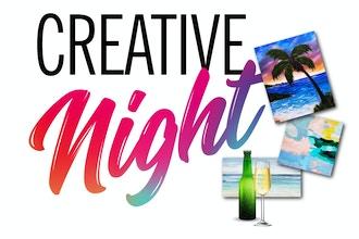 Paint + Sip: Creative Night