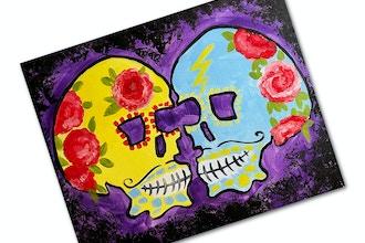 Paint + Sip: Sugar Skulls