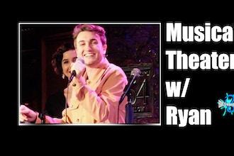 Online Musical Theater Singing Class with Ryan Hudzik