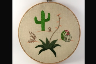 Introduction to Embroidery: Plant Contemporary
