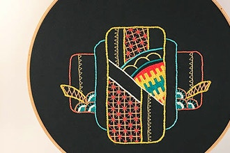 Introduction to Embroidery: Geometric Design