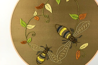 Introduction to Embroidery: Insect