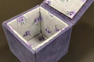 Fabric-Covered Box