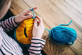 English/American-Style Knitting For Kids