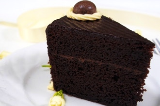 Chocolate & Yellow Cake