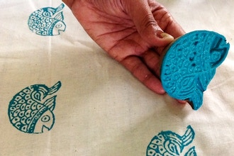 Teen: Relief Printing on Fabric (Ages 10 – 15)