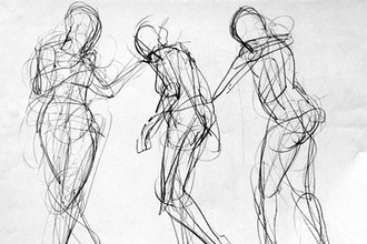 Teen: Figure Drawing Clothed (Ages 13-18)