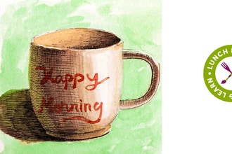 Lunch & Learn - Coffee Mug Drawing Demo