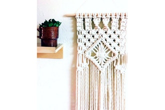 Virtual Off the Wall Macrame- Textile