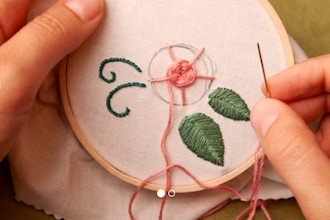 Online Sewing Summer Camp - Stitching