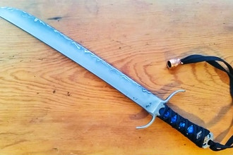 Learn to Forge a Sword in Damascus - Metal Working Classes New York |  CourseHorse - Theo Rock Nazz LLC
