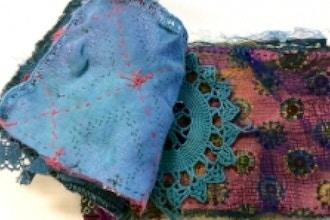 Fabric-Stash Cloth Book