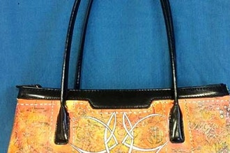 Purse Painting (Leather Edition)