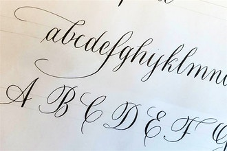 Copperplate Calligraphy - Calligraphy & Hand Lettering Classes New York |  CourseHorse - 92nd Street Y