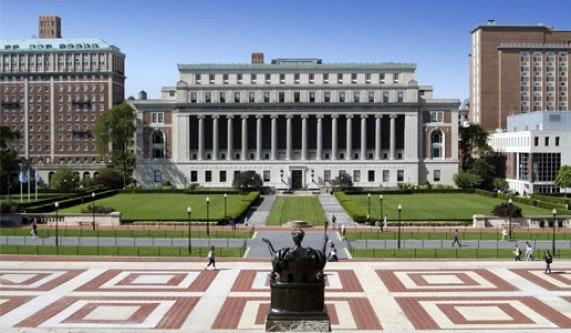 Architectural Walking Tour Of Columbia University