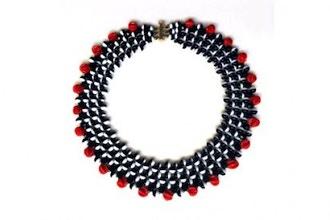 Beaded Crochet Necklaces & Warp Bracelets