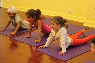 Mini-Bean Yoga / Ages 3-5