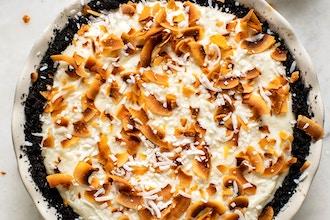 Snowy Day Coconut Chiffon Pie with Kate McDermott