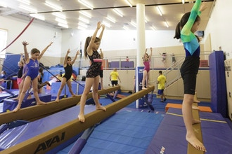 Girls' Gymnastics Levels I & II (Int/Adv) Ages 5-7