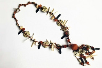 Easy Macrame Tassel Necklace