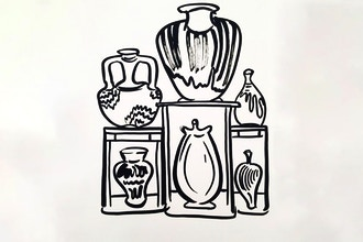Printmaking for Adults, Collagraphs in Quarantine