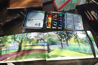 Sketching & Planning Projects of Oil Painting