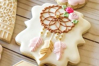 Boho Chic Royal Icing Cookie