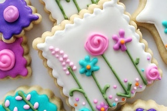 Mother's Day Royal Icing Cookies