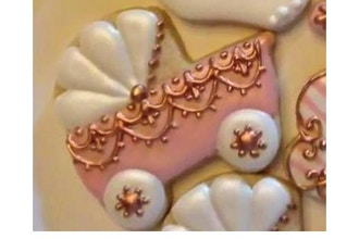 Spoiled Girl Princess Royal Icing Cookies