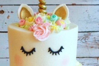 Teen and Tween Unicorn Witch Cake