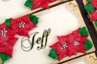 Place - Card Royal Icing Cookie