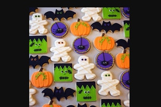 Halloween Royal Icing & Day of the Dead Cookie