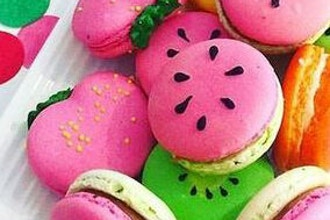 Summer Fruit Macaron Demo and Decorating