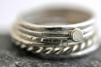 Making Stack Rings - Intro to Working with Metals