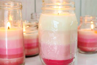 DIY Studio: Mason Jar Candles